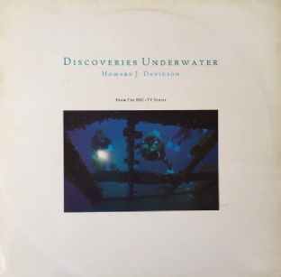 Howard J. Davidson - Discoveries Underwater: From The BBC TV Series (LP) (EX/G-VG)